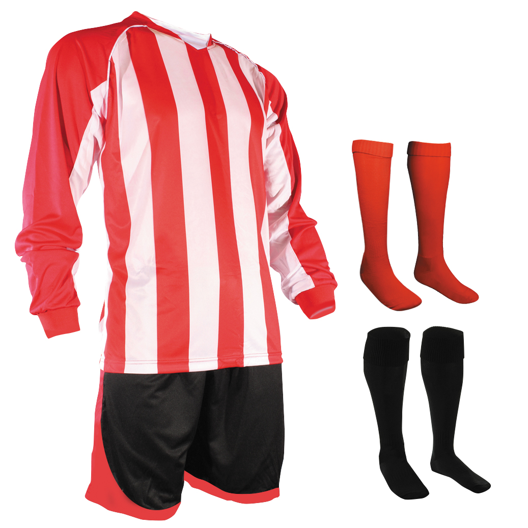 unbranded stripe kit in red and white